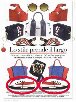 Lo stile prende il largo (Superga Italy)