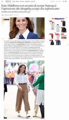 Kate Middleton con un paio di scarpe Superga è l'ispirazione allo shopping scarpe che aspettavamo (Superga Italy)