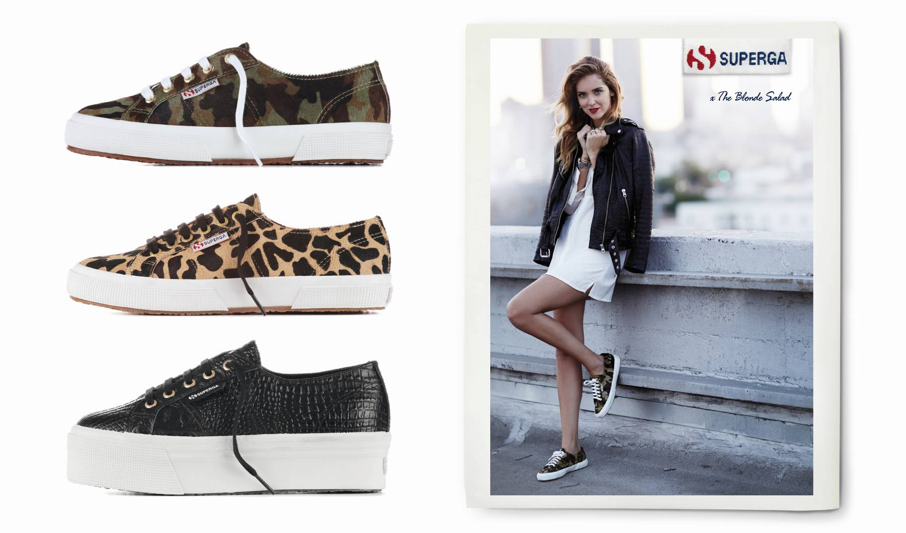 Superga for The Blonde Salad My new capsule collection