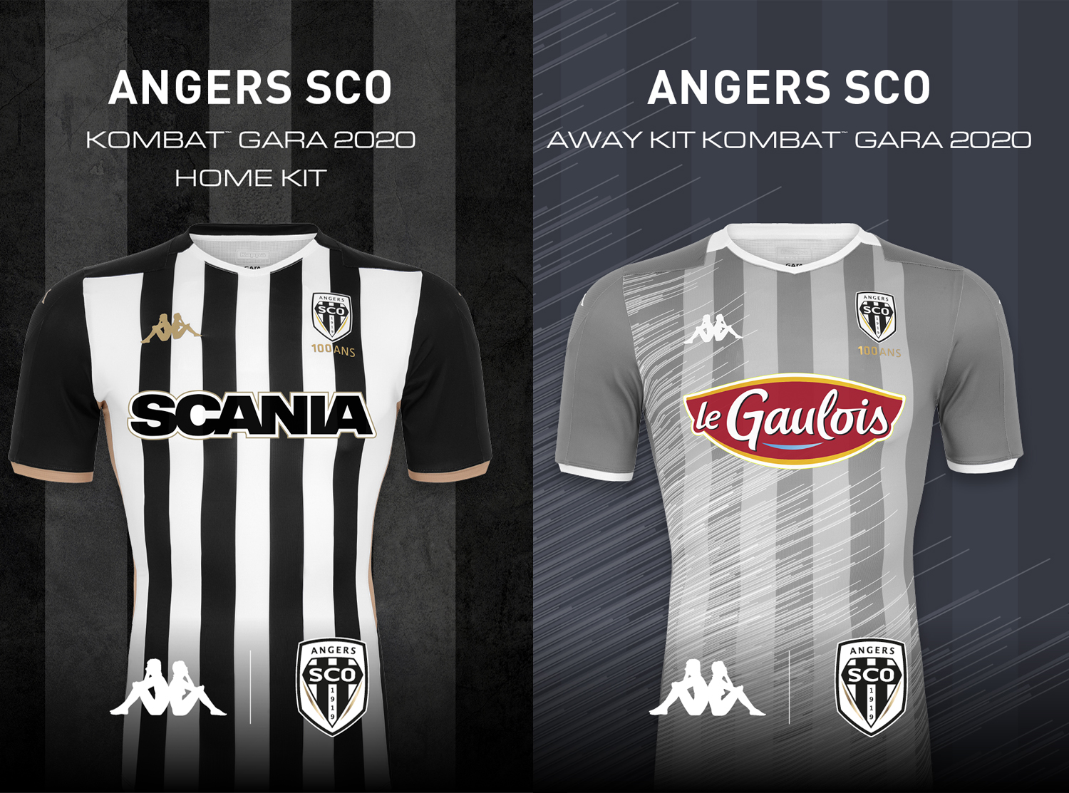 02f5a741e75 visualizzazioni 31. salva. facebook. Kappa® France unveils online the new  Kombat™ Gara 2020 football jerseys for Angers SCO
